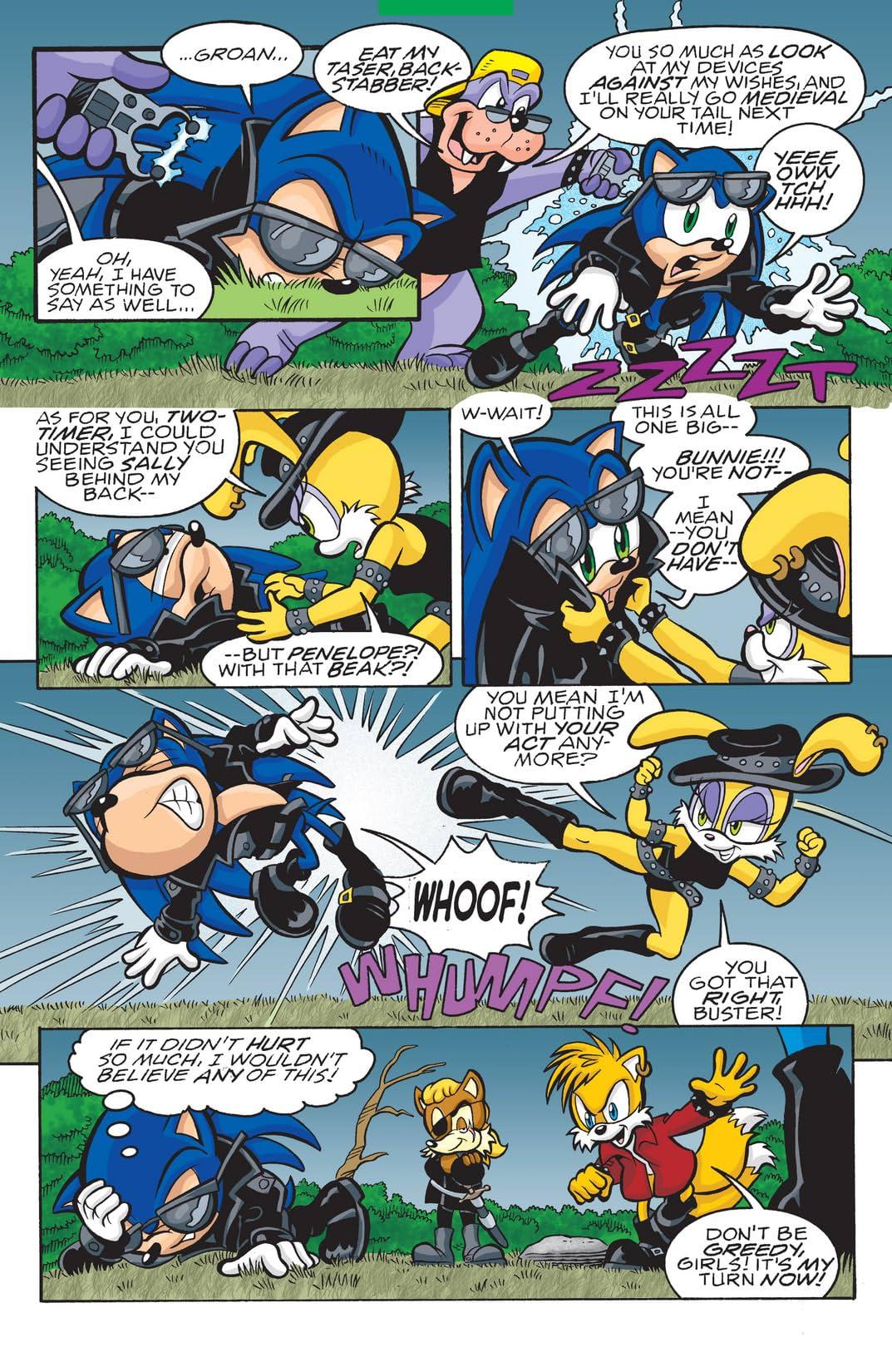 Sonic the Hedgehog #151