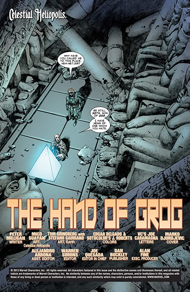 click for super-sized previews of Thor (2007-2011) Annual #1