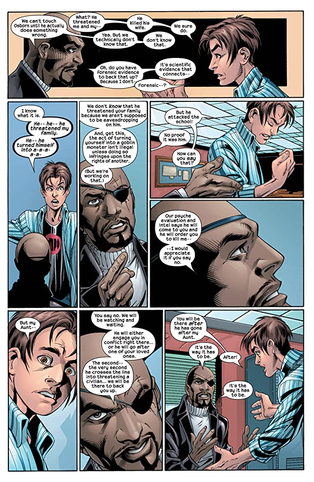 click for super-sized previews of Ultimate Spider-Man (2000-2009) #24