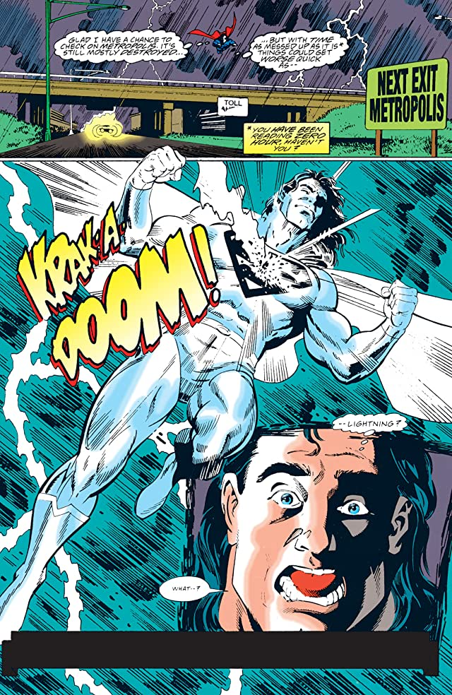 click for super-sized previews of Adventures of Superman (1986-2006) #516