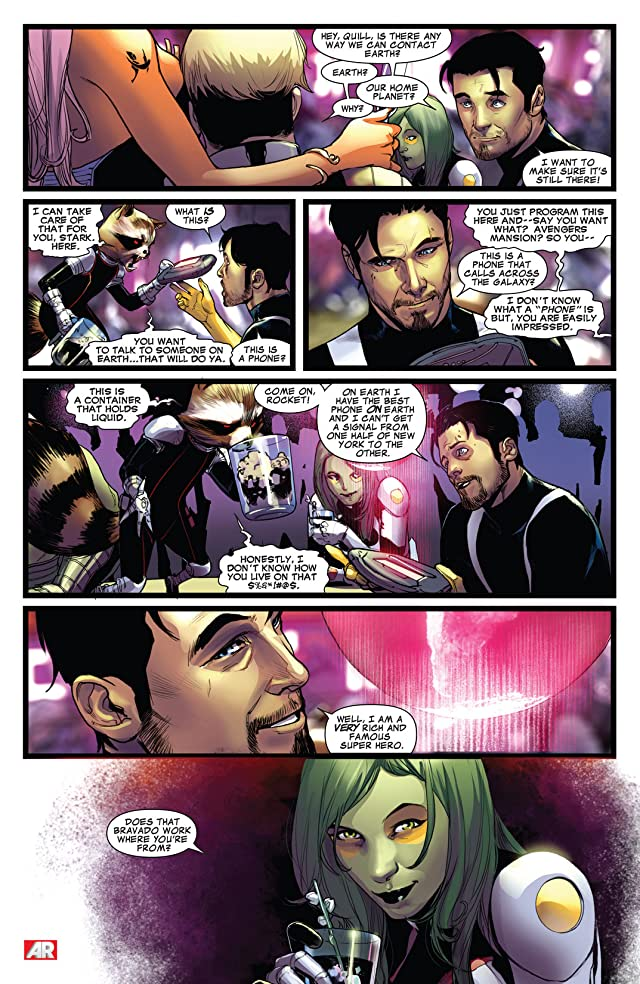 click for super-sized previews of Guardians of the Galaxy (2013-2015) #4