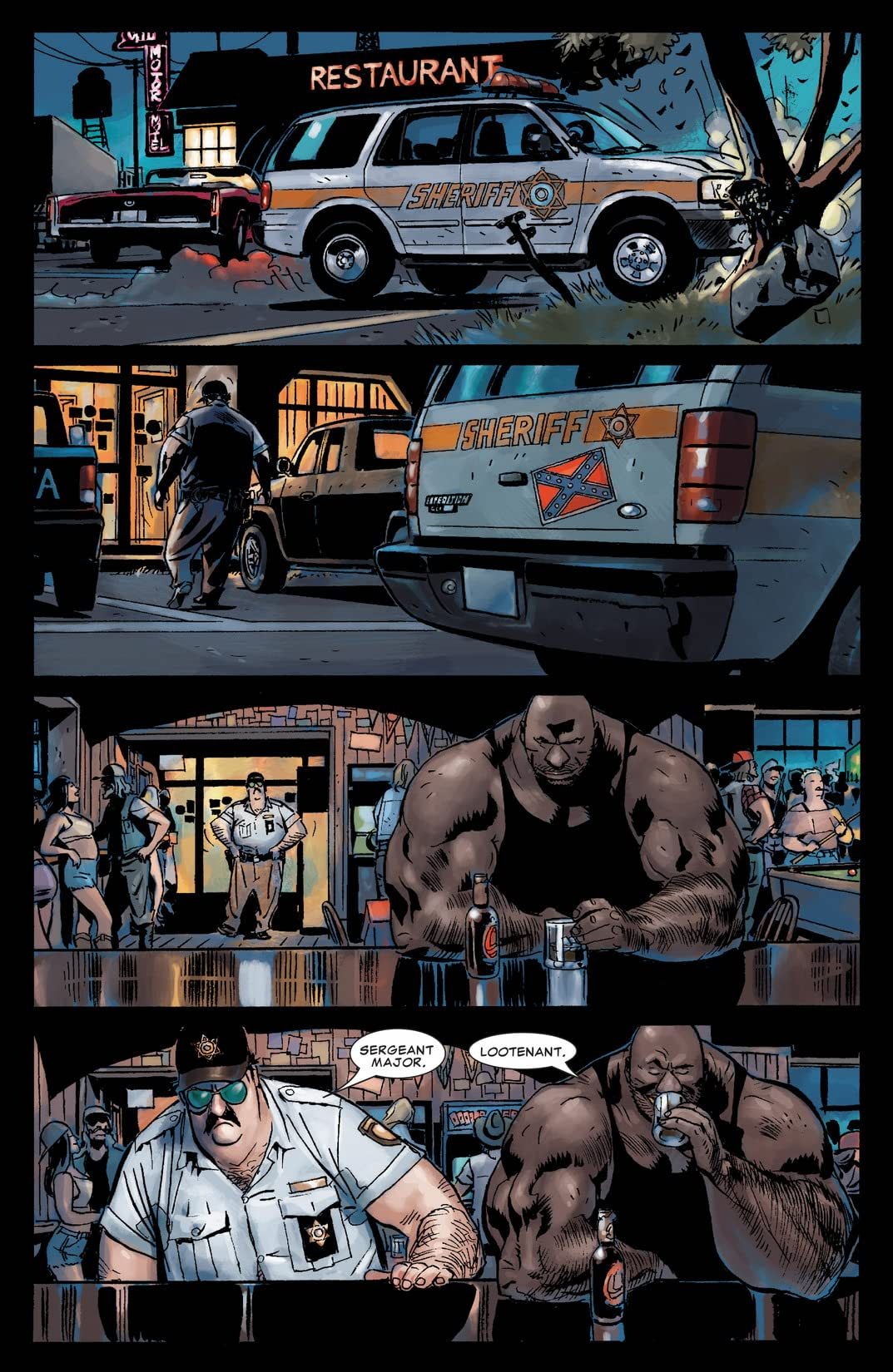Punisher Presents: Barracuda Max #1 (of 5)