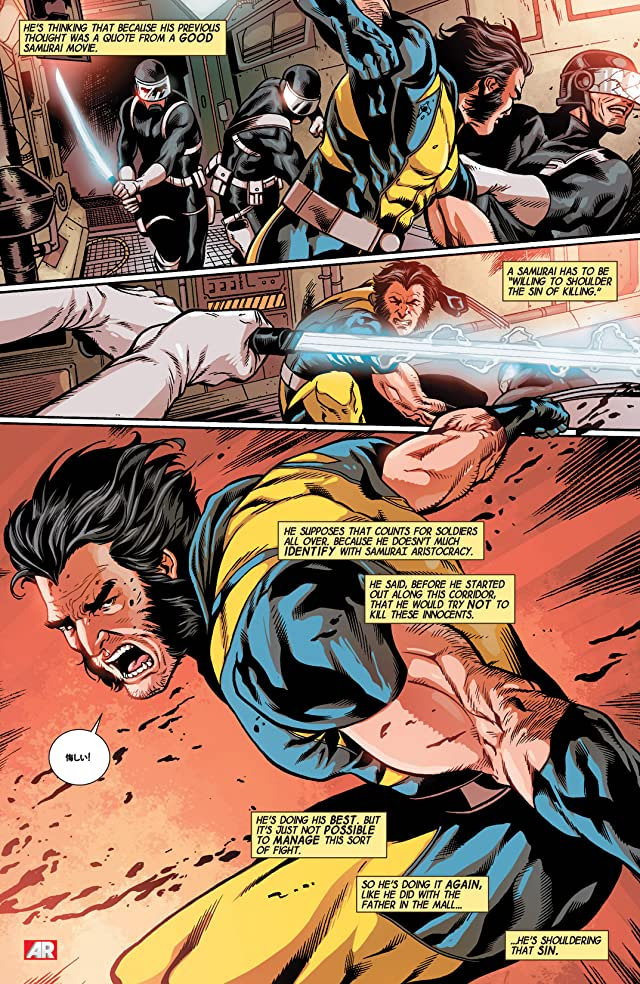 click for super-sized previews of Wolverine (2013-2014) #5