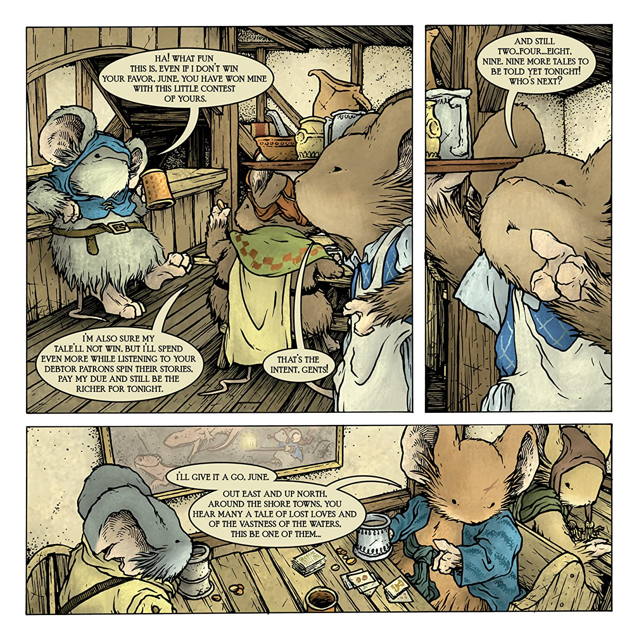 Mouse Guard: Legends of the Guard Vol. 2 #2