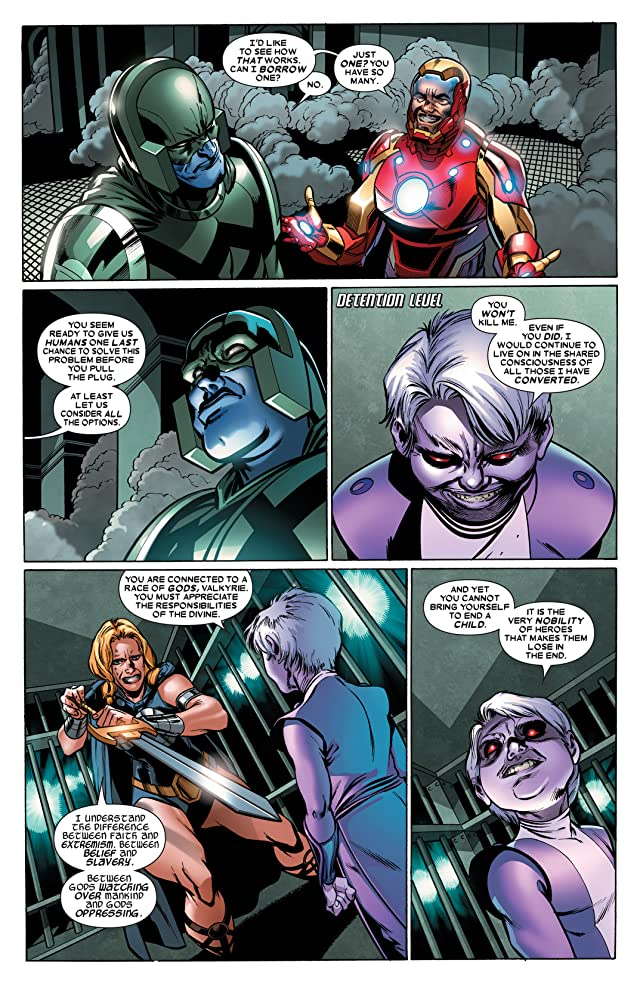 click for super-sized previews of Annihilators: Earthfall #4
