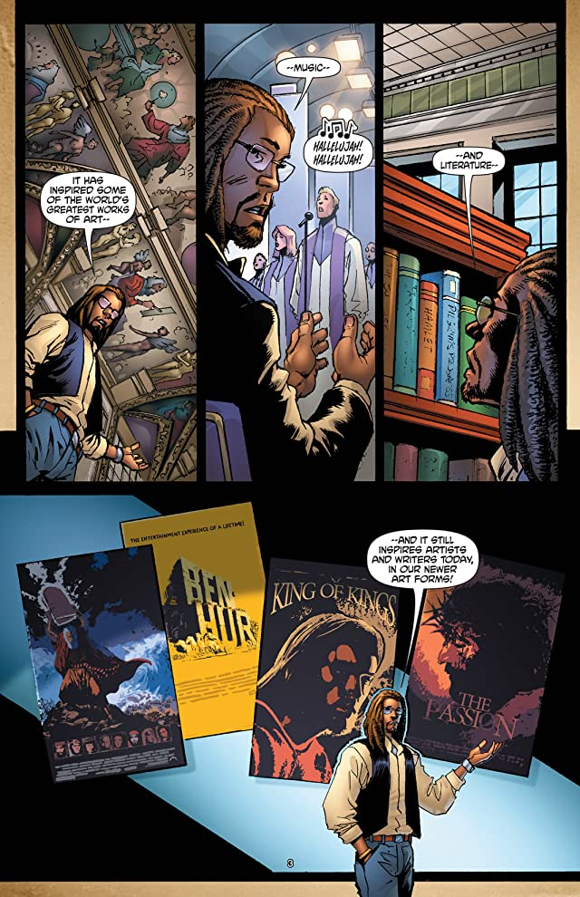 click for super-sized previews of The Book of God: How We Got The Bible