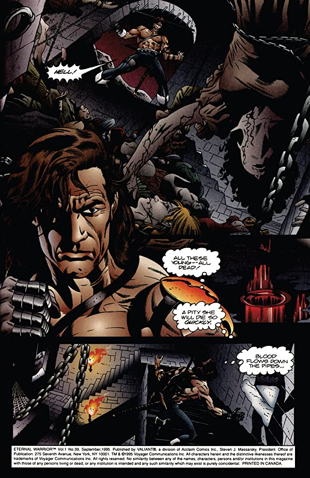 click for super-sized previews of Eternal Warrior (1992-1996) #39