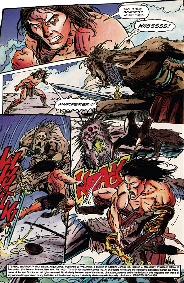 click for super-sized previews of Eternal Warrior (1992-1996) #38