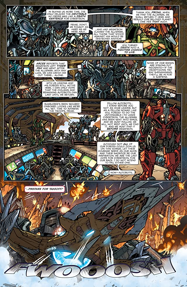 click for super-sized previews of Transformers: Reign of Starscream Collected Edition