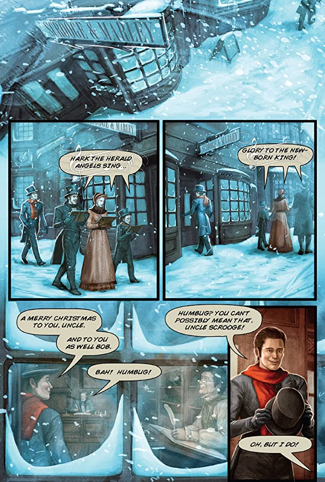 click for super-sized previews of A Christmas Carol (Markosia)