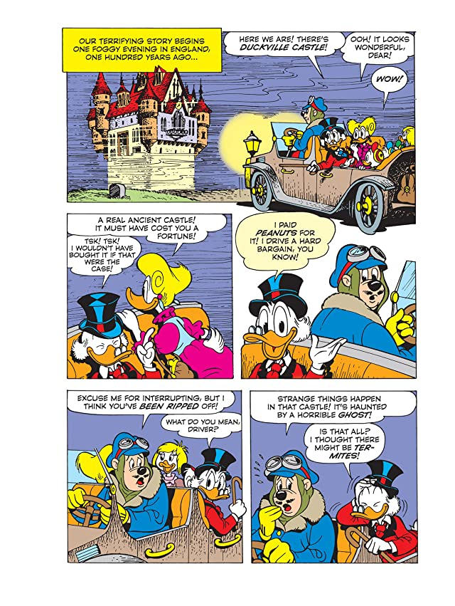 Uncle Scrooge and the Canterville Ghost