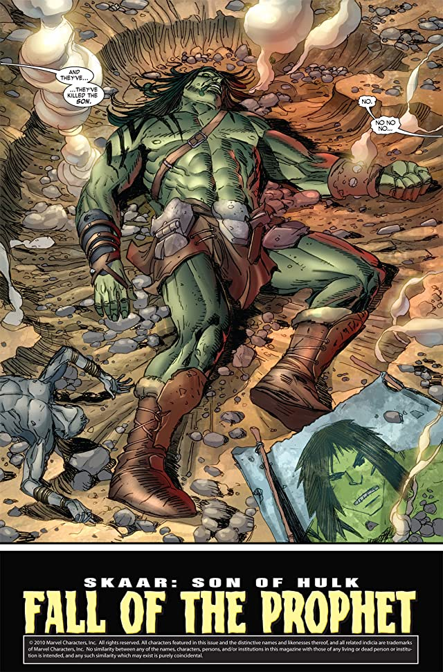 Skaar: Son of Hulk #5