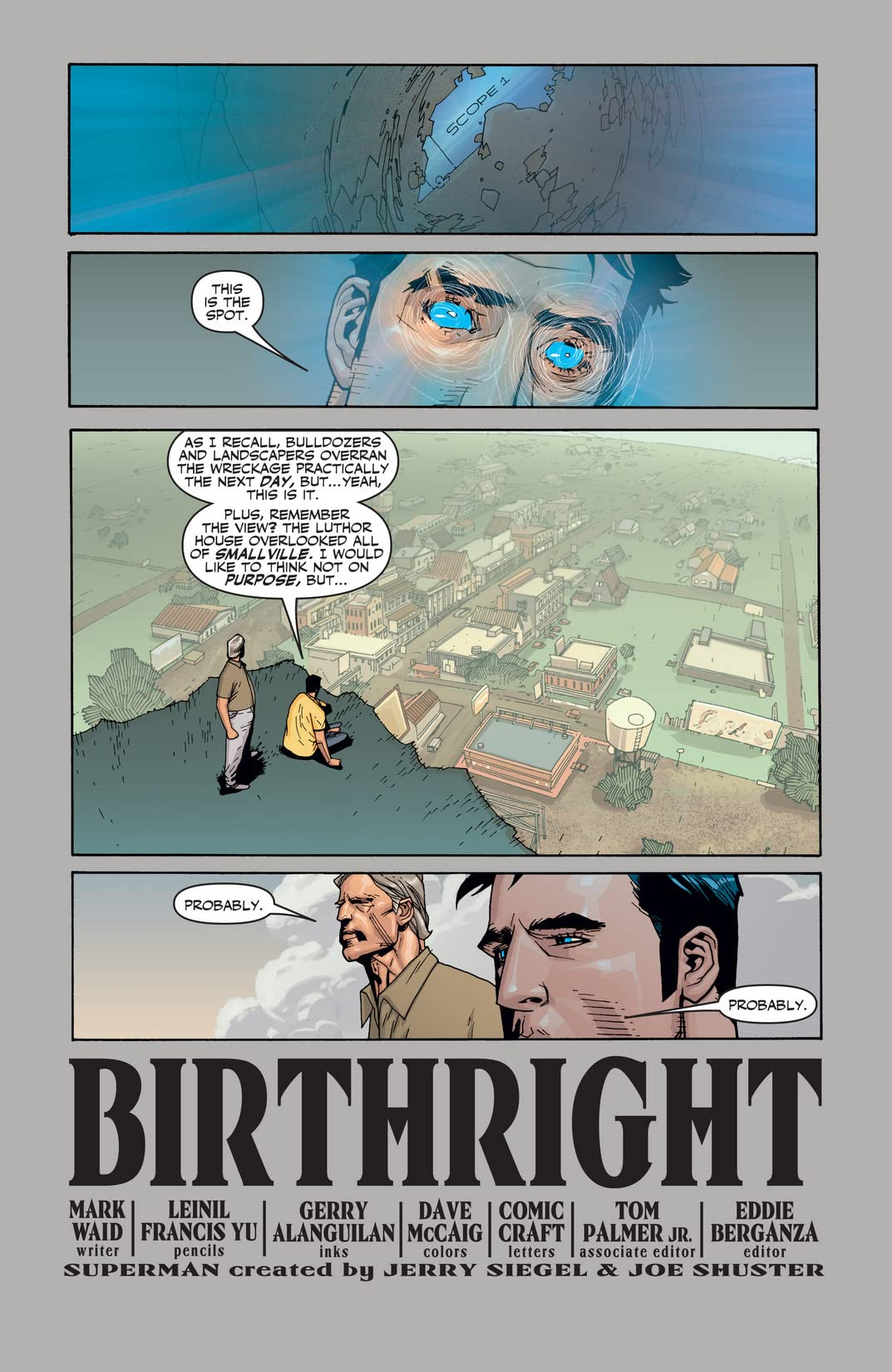 Superman: Birthright #8