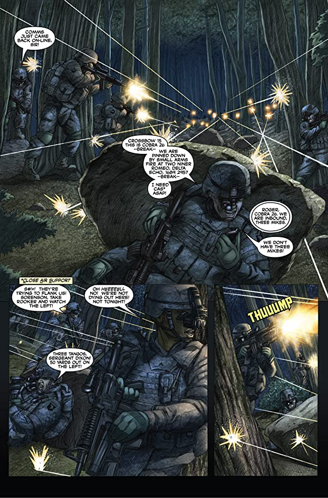 click for super-sized previews of America's Army #5: Tipping Point