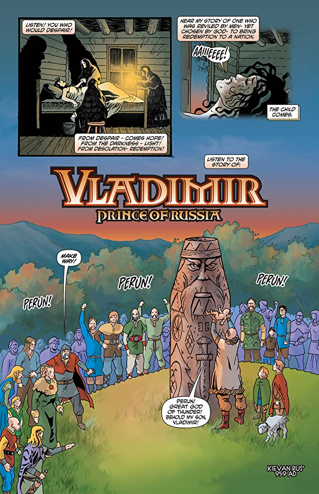 click for super-sized previews of Vladimir: Prince of Russia