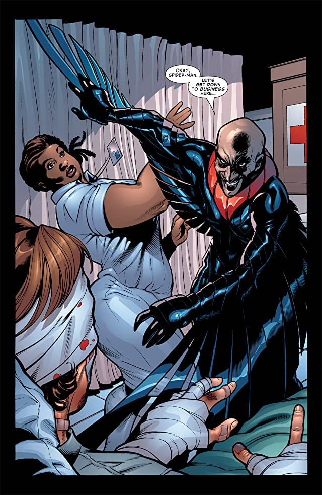click for super-sized previews of Marvel Knights Spider-Man (2004-2006) #4