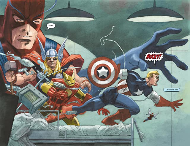 click for super-sized previews of Captain America: White #1