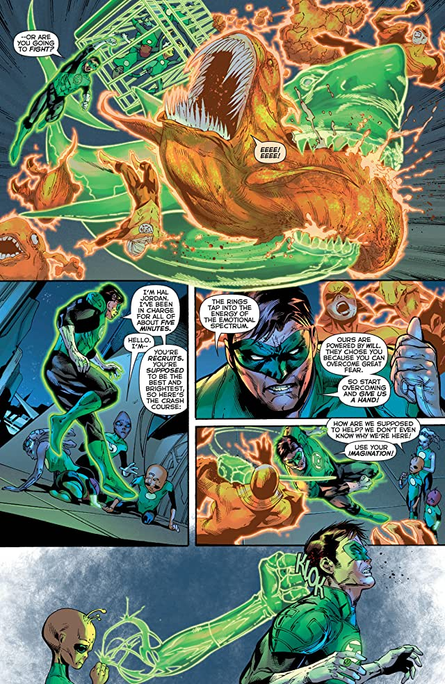 Green Lantern (2011-) #22