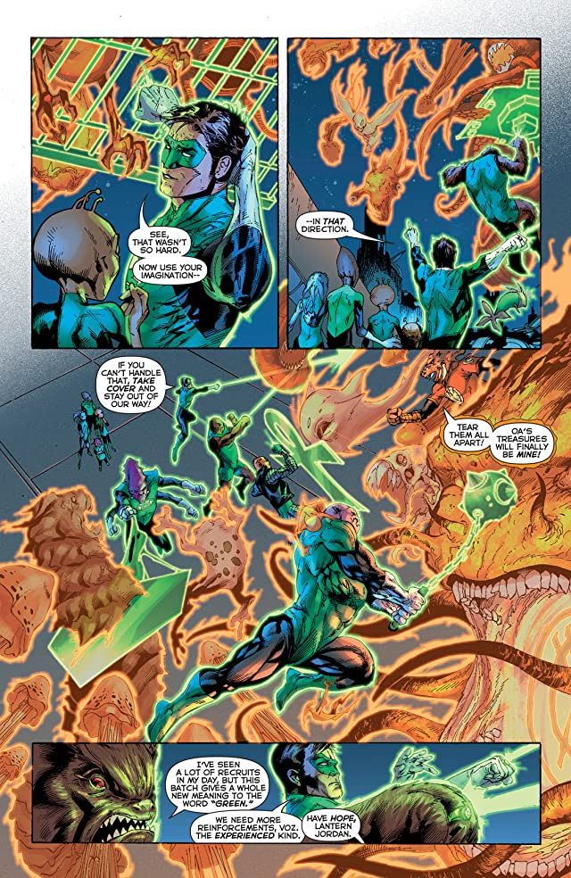 click for super-sized previews of Green Lantern (2011-) #22
