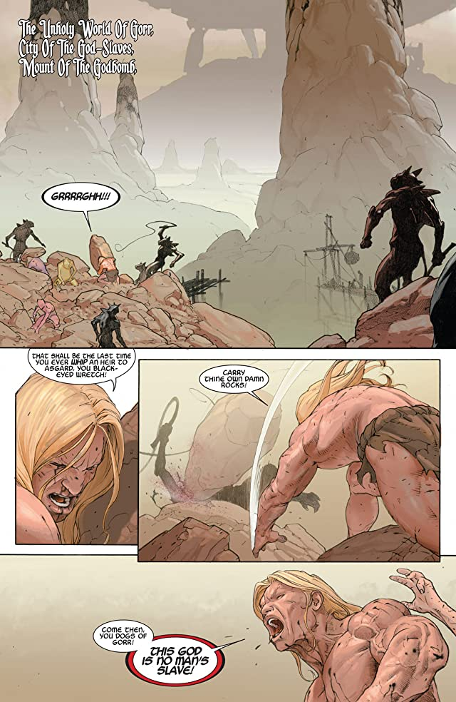 click for super-sized previews of Thor: God of Thunder #8