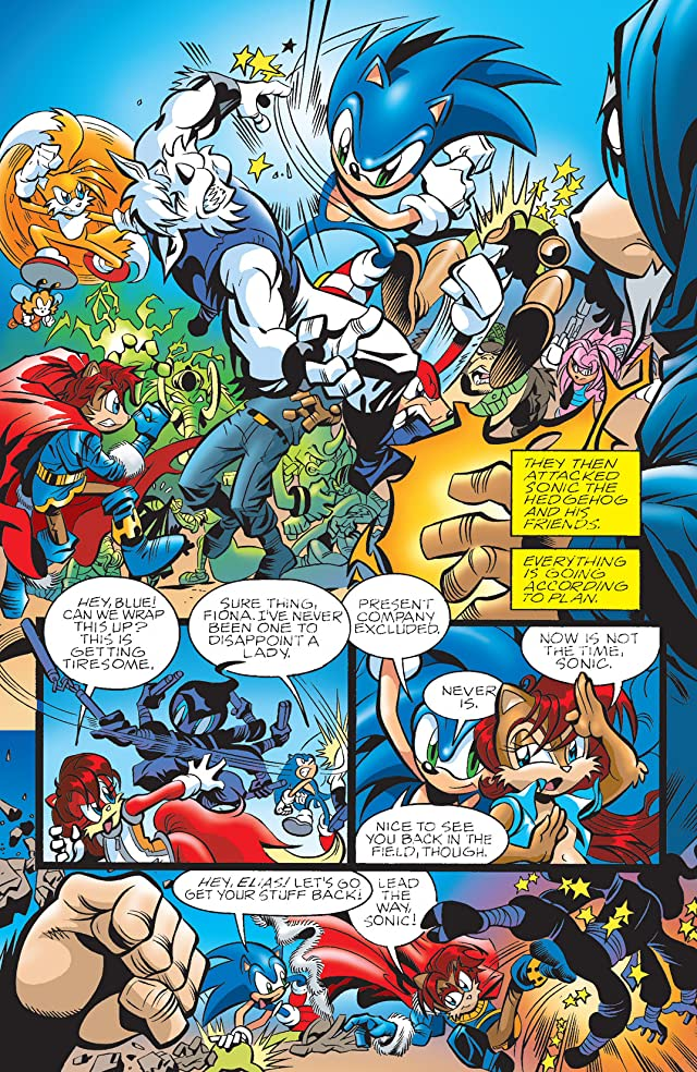 Sonic the Hedgehog #164