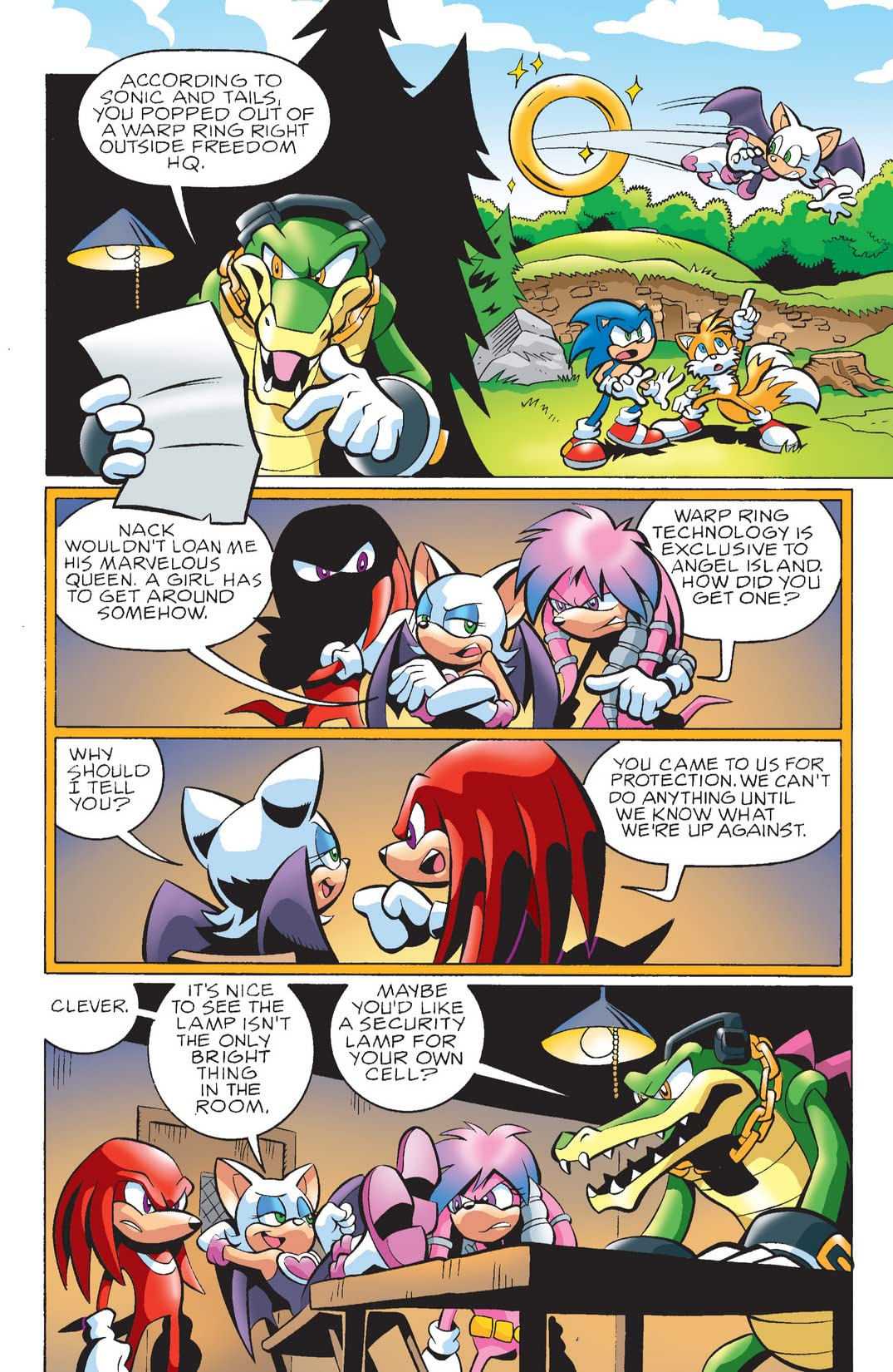 Sonic the Hedgehog #165