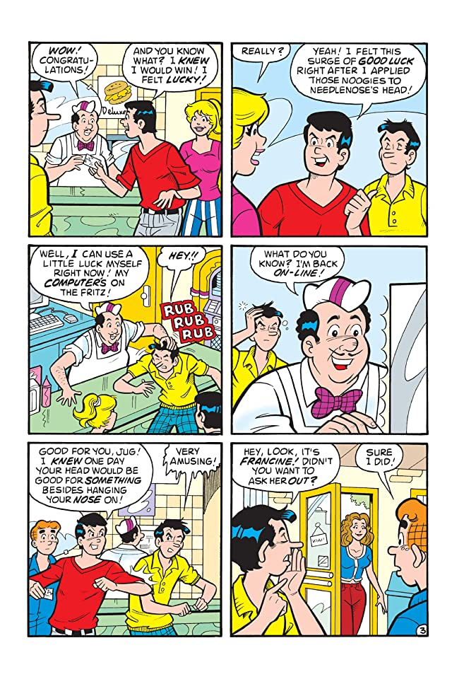 click for super-sized previews of Jughead #109