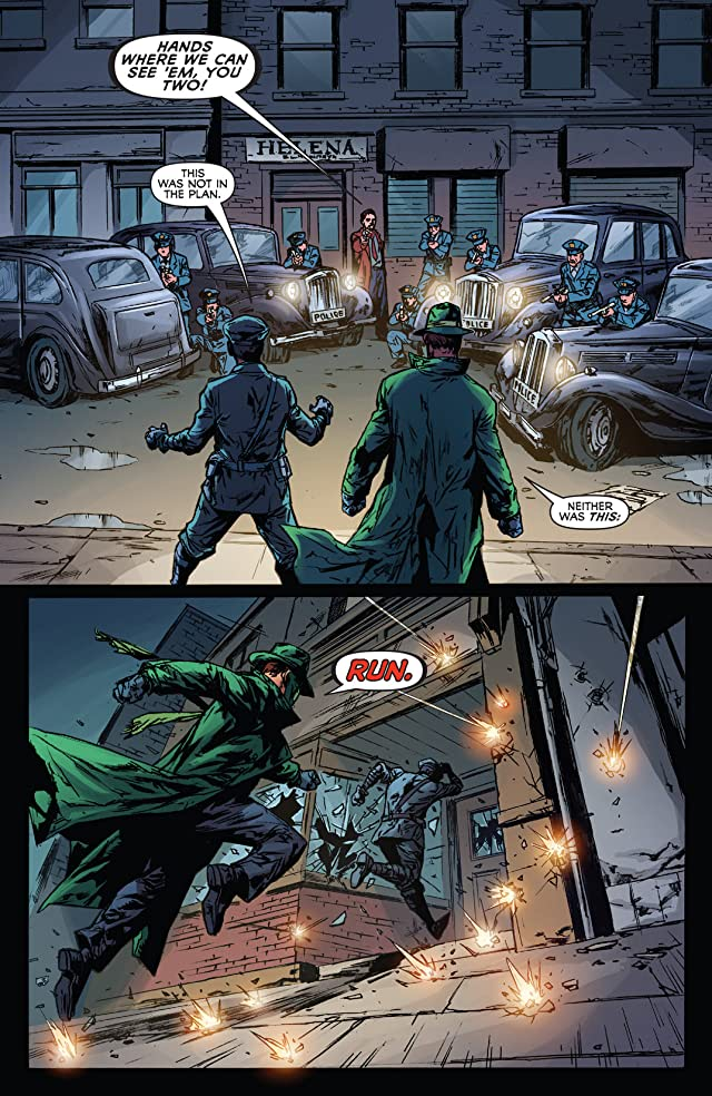 click for super-sized previews of The Green Hornet #3: Digital Exclusive Edition