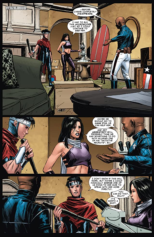 click for super-sized previews of Young Avengers Presents #5