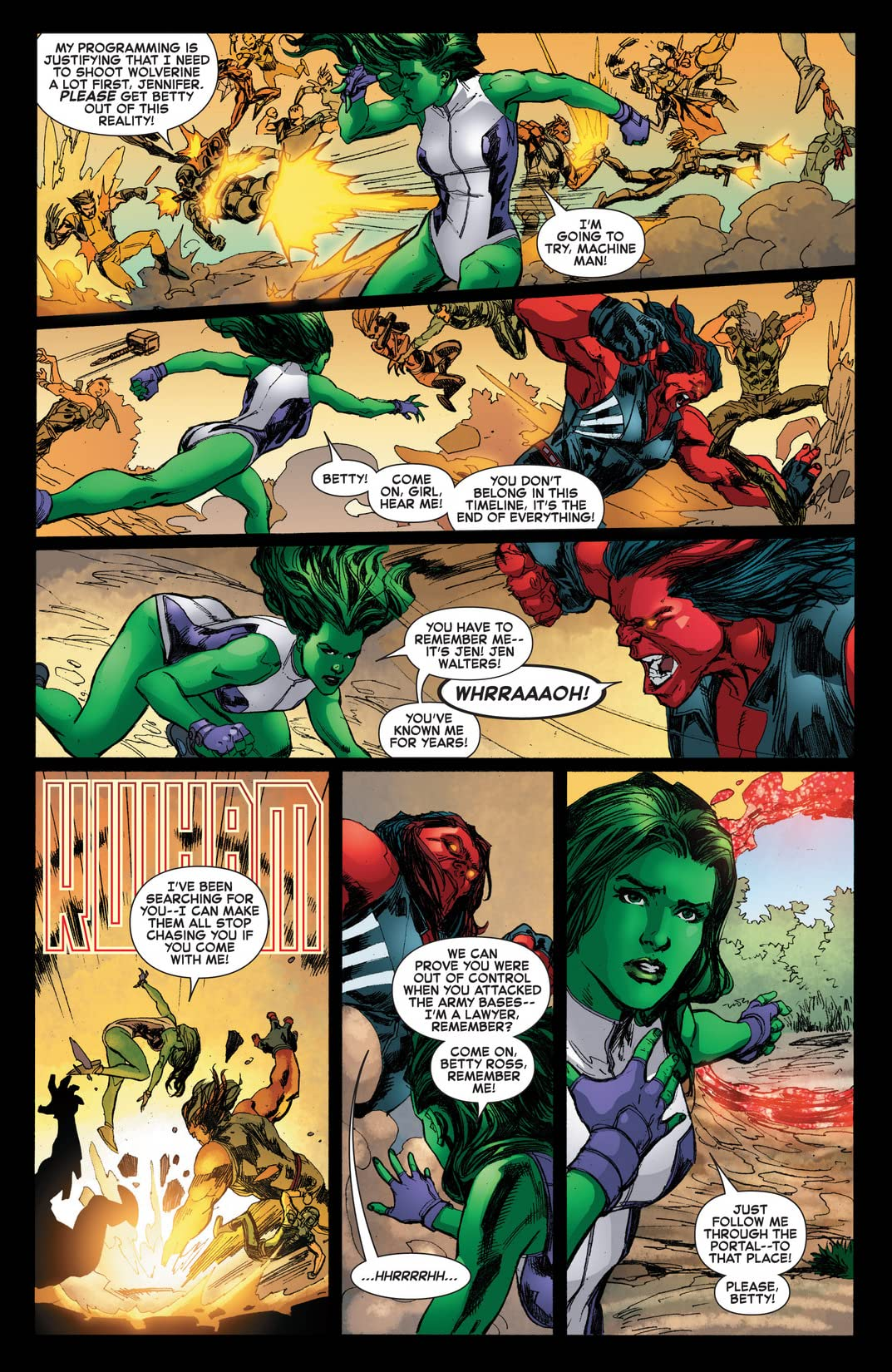 Red She-Hulk (2012-2013) #67