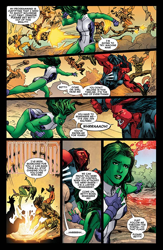 click for super-sized previews of Red She-Hulk (2012-2013) #67
