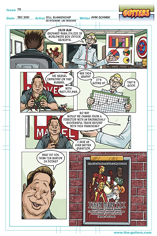 click for super-sized previews of Gutters #4