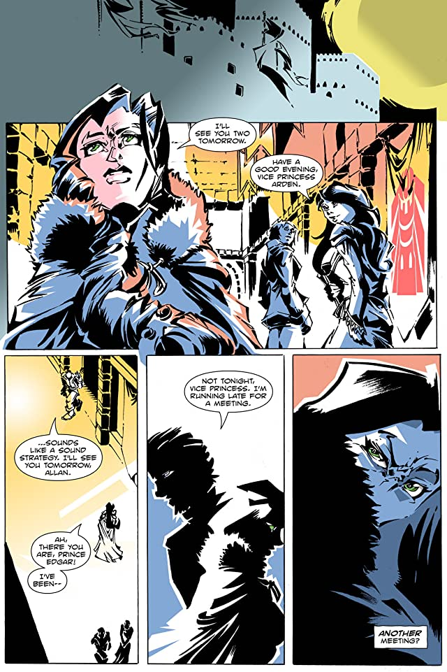 click for super-sized previews of Artful Daggers #5