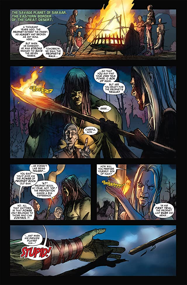 click for super-sized previews of Skaar: Son of Hulk #4