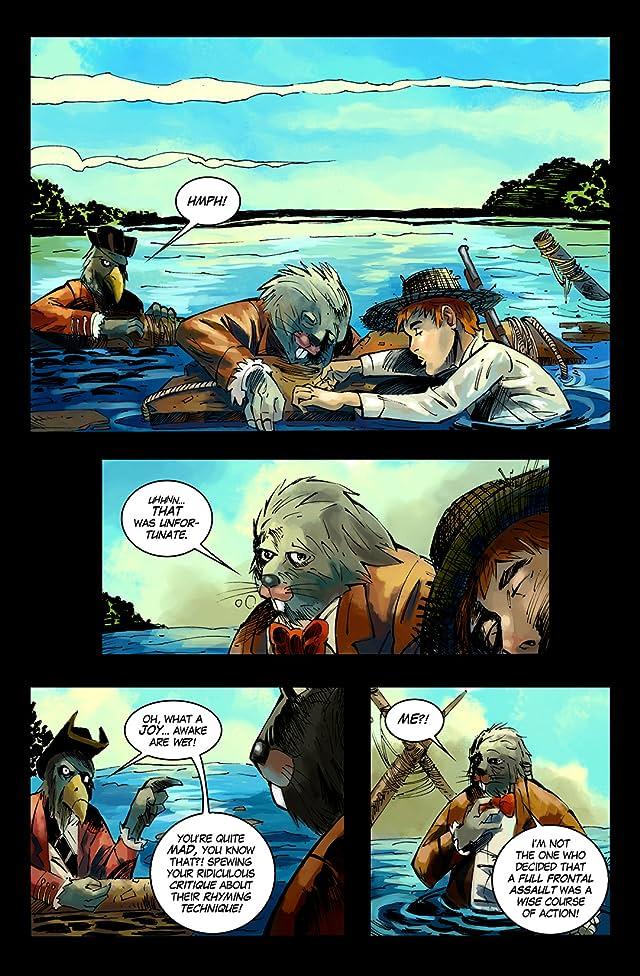Huck Finn's Adventures in Underland #2