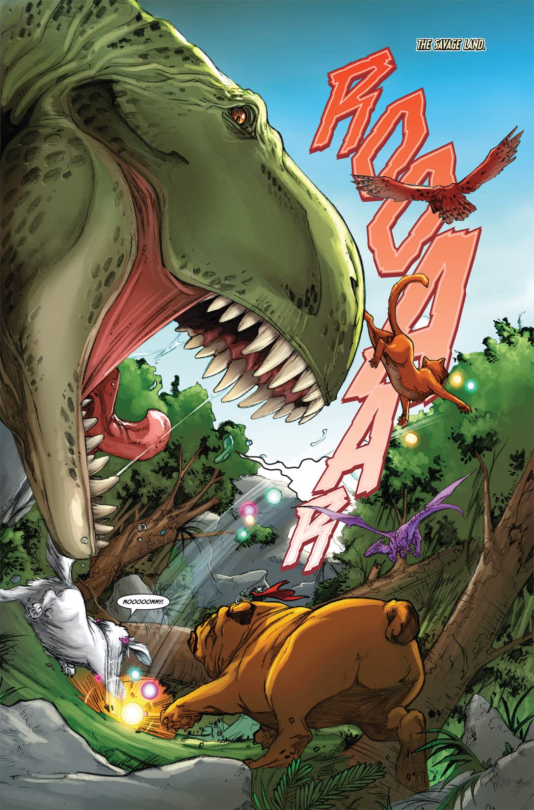 Lockjaw and the Pet Avengers (2009) #2 (of 4)