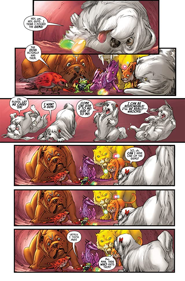 Lockjaw and the Pet Avengers #3 (of 4)