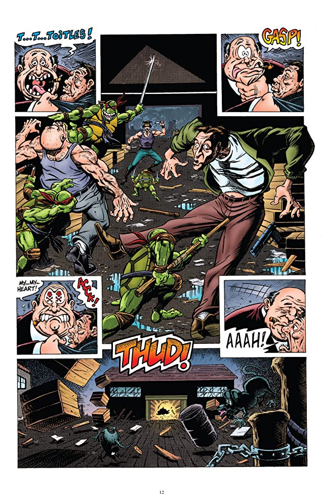 click for super-sized previews of Teenage Mutant Ninja Turtles: Classics Vol. 5