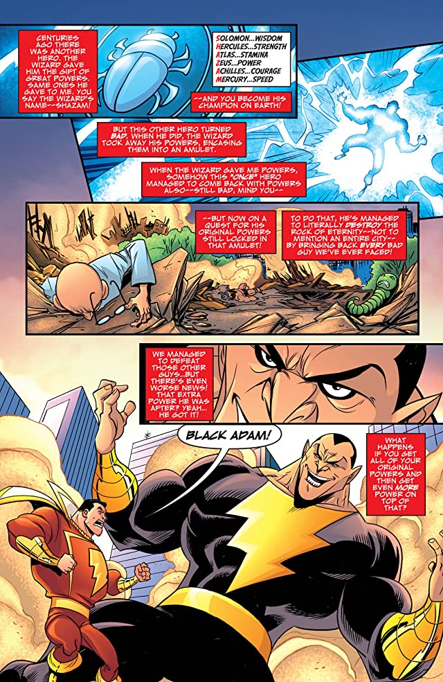 click for super-sized previews of Billy Batson and the Magic of Shazam! #21