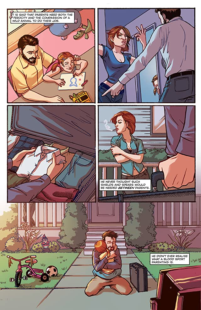 click for super-sized previews of Fatherhood #1