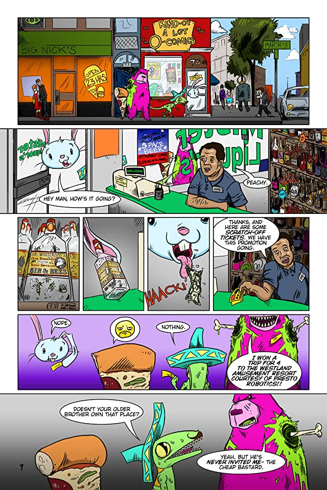 click for super-sized previews of Floating BunnyHead #1