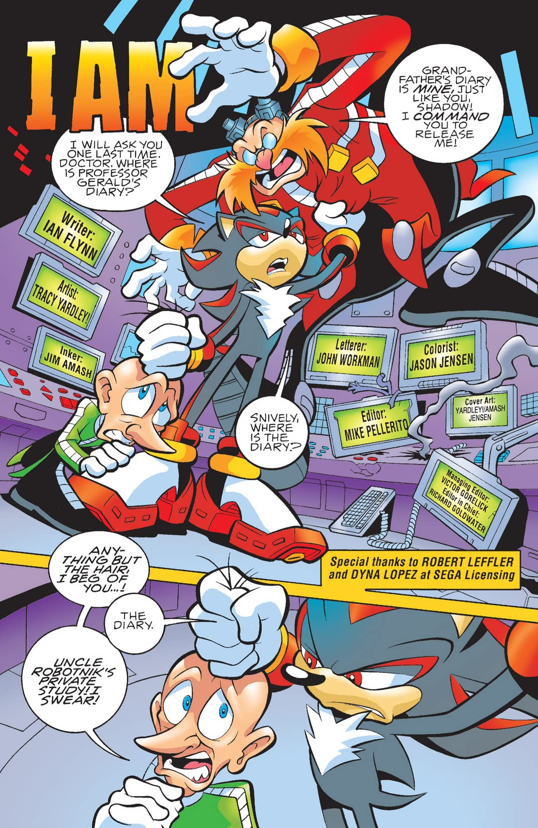 Sonic the Hedgehog #171
