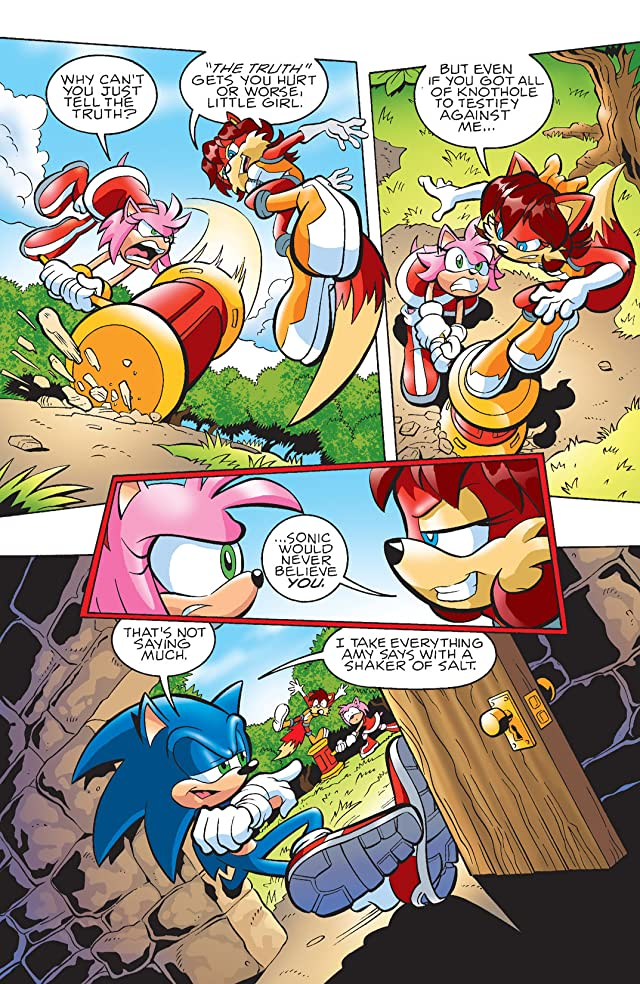click for super-sized previews of Sonic the Hedgehog #172