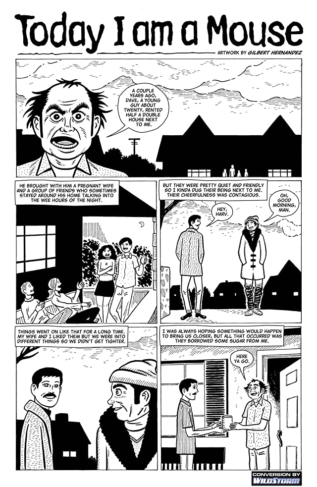 click for super-sized previews of American Splendor #4