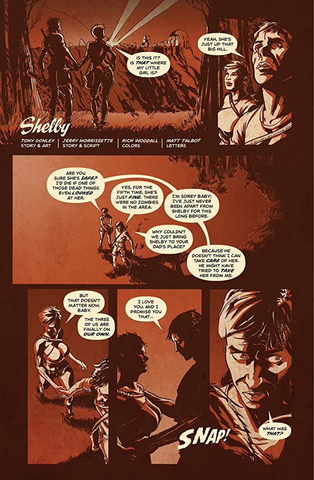 click for super-sized previews of Zombie Spotlight #1