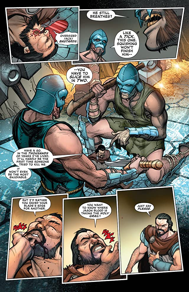 click for super-sized previews of Demon Knights (2011-2013) #22