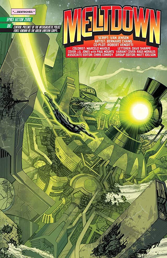 click for super-sized previews of Green Lantern Corps (2011-2015) #22
