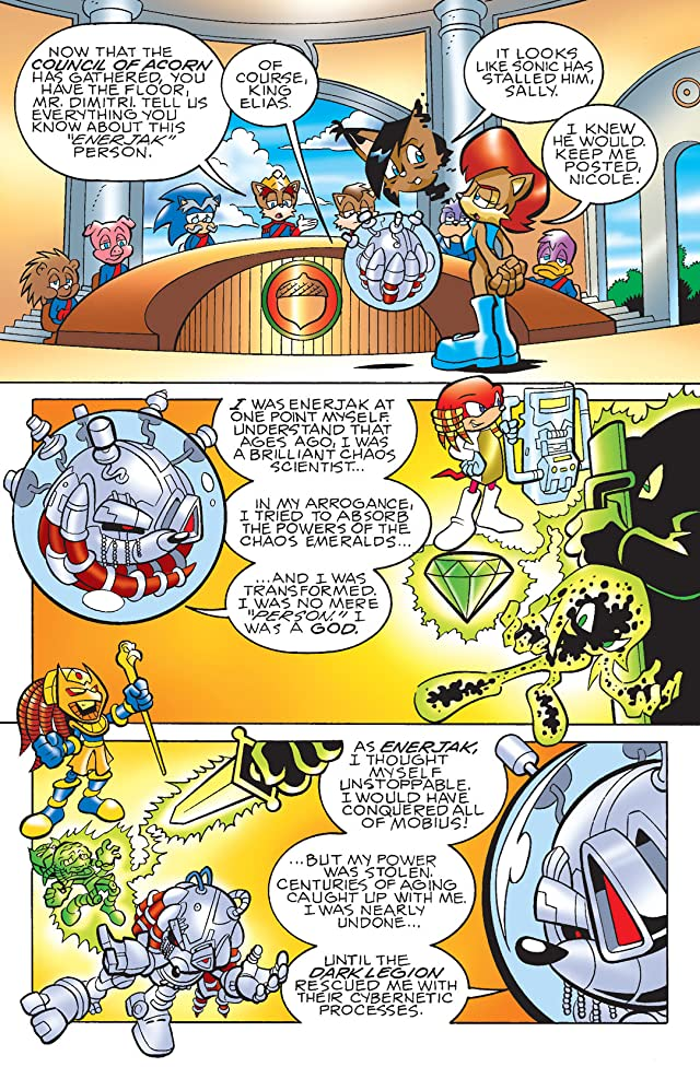 Sonic the Hedgehog #180