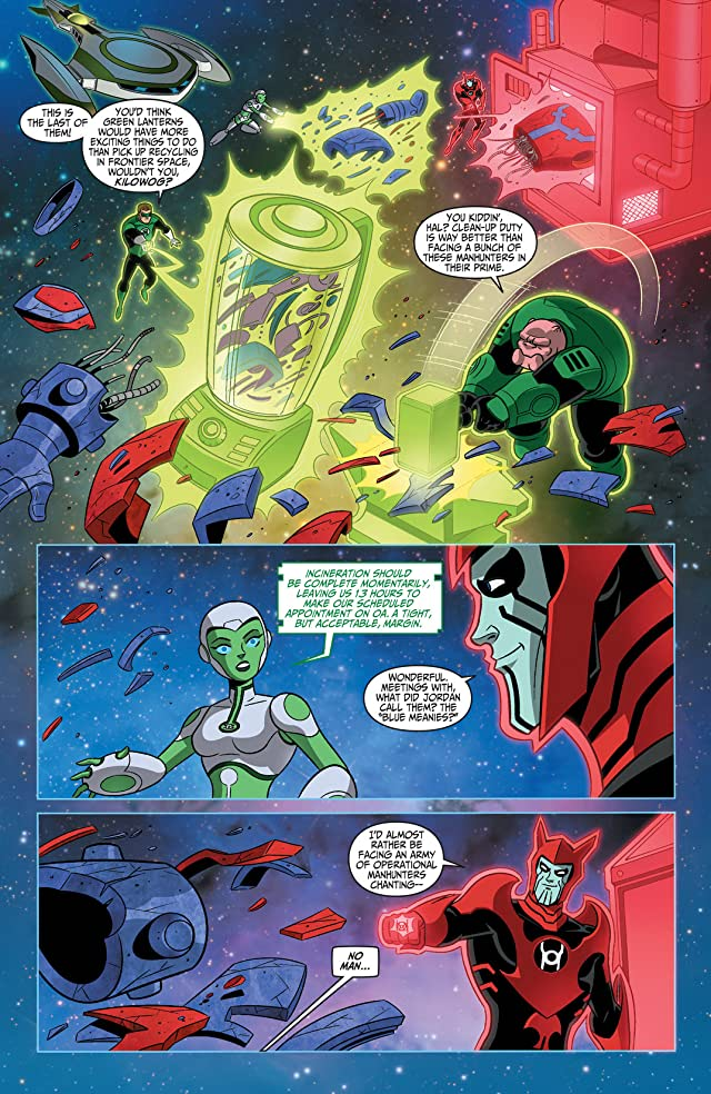 click for super-sized previews of Green Lantern: The Animated Series #14