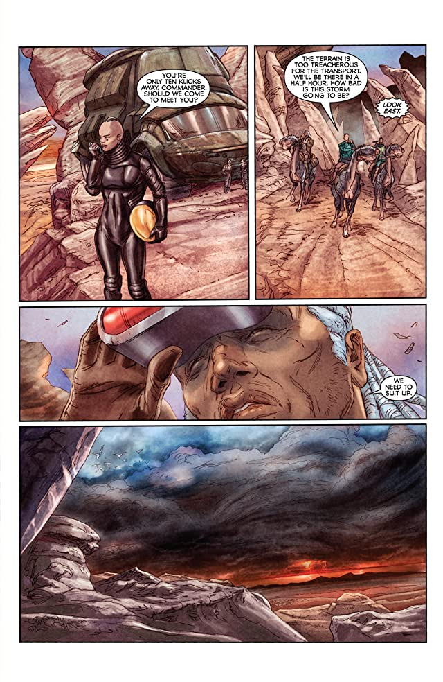 click for super-sized previews of Storm Dogs #6